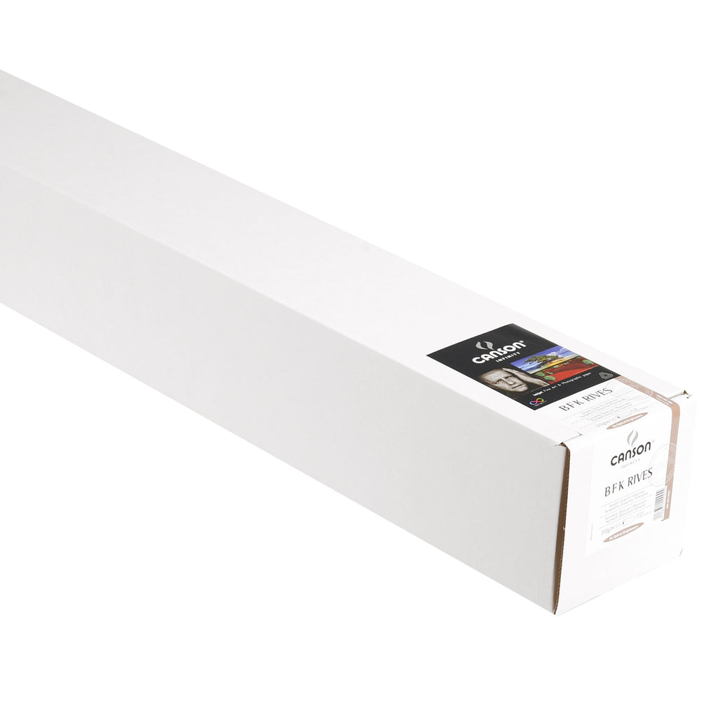 "Canson Infinity PrintMaKing Rag (BFK Rives) - 310gsm - 44""x50' roll - Wall Your Photos"