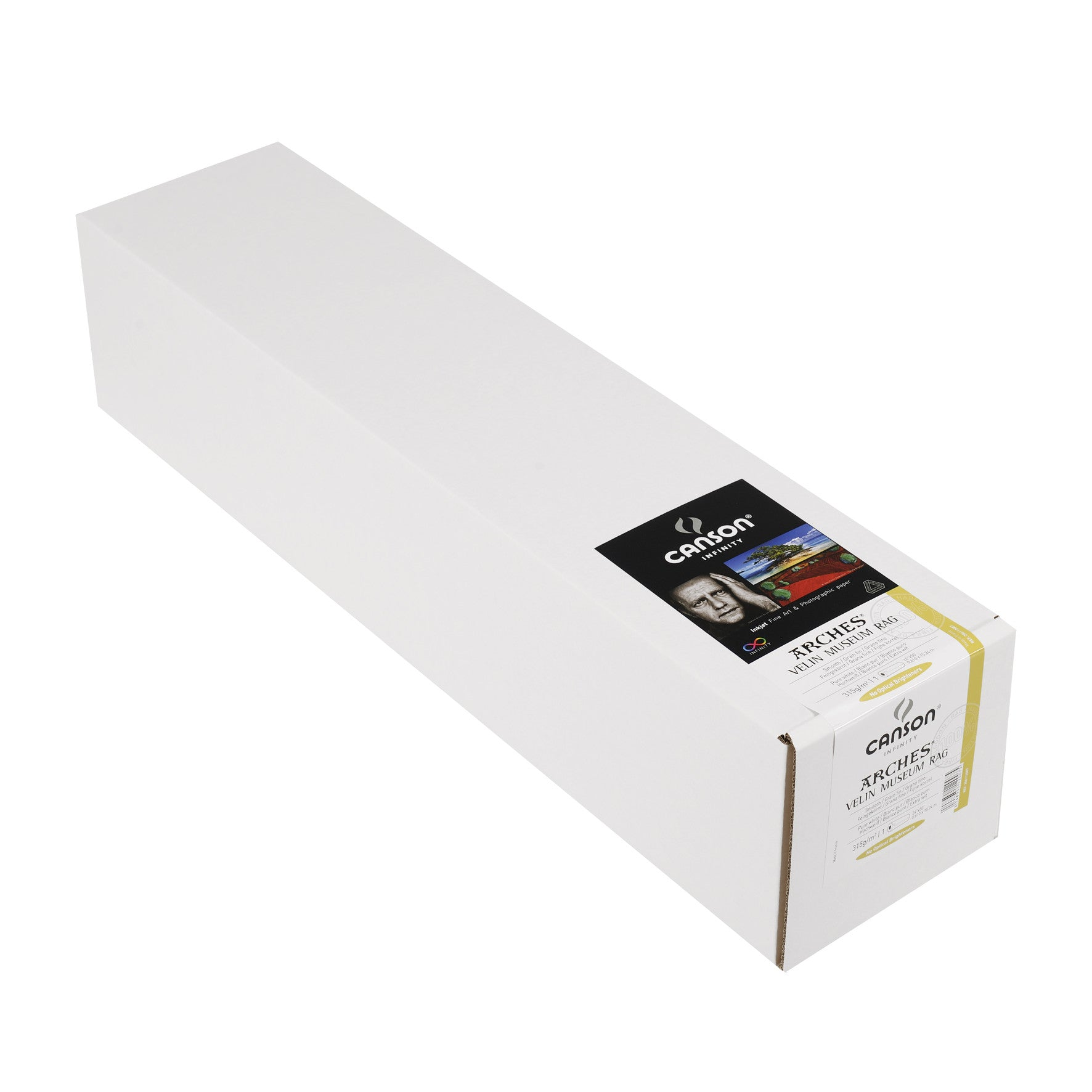 "Canson Infinity Velin Museum Rag - 315gsm - 24""x50' roll - Wall Your Photos"