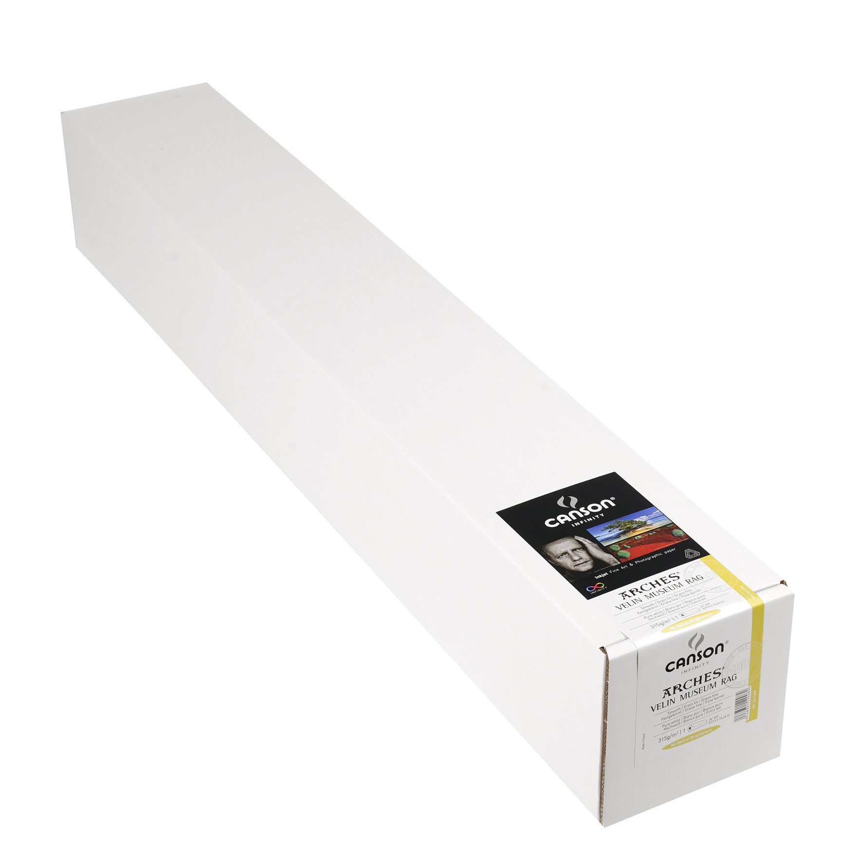 "Canson Infinity Velin Museum Rag - 315gsm - 36""x50' roll"