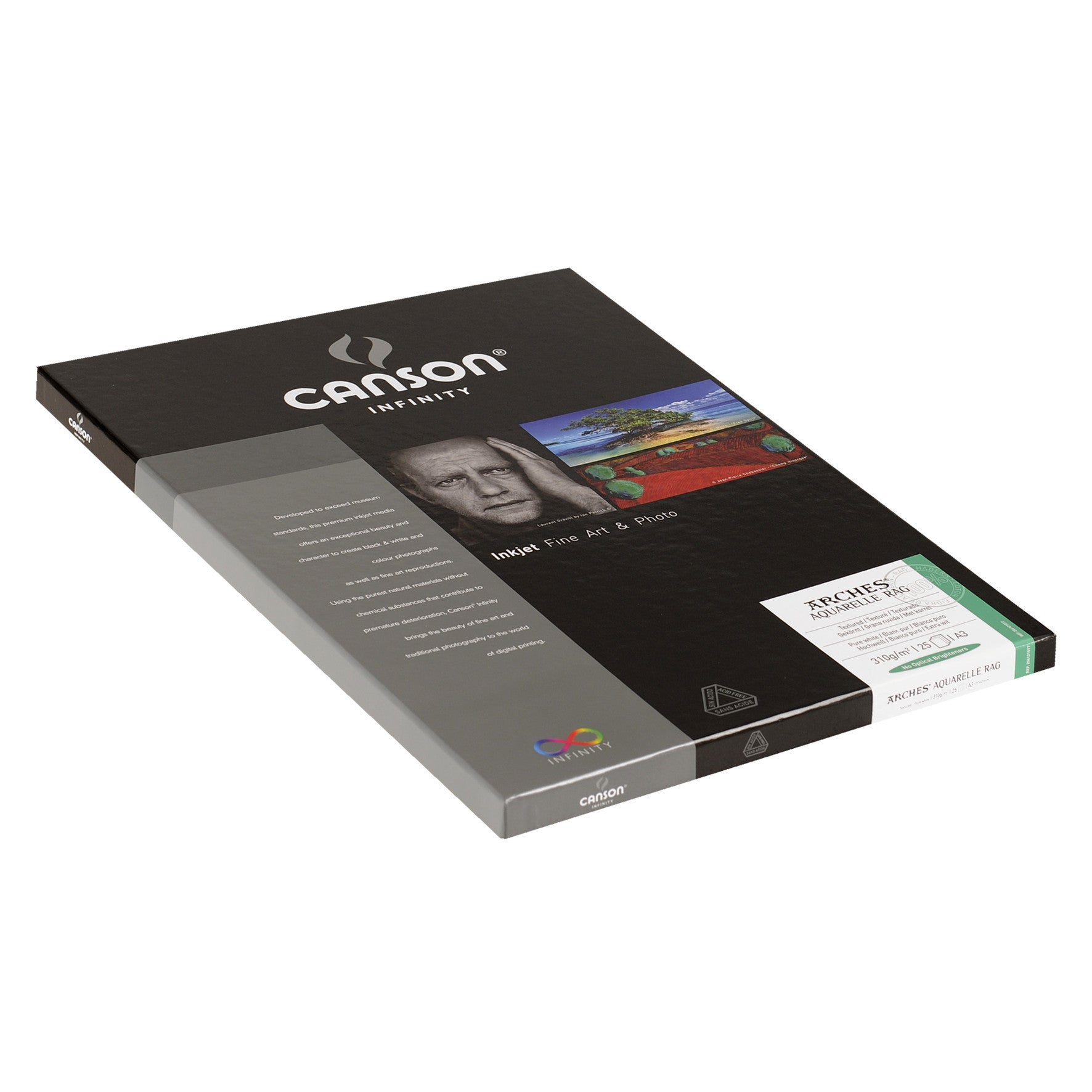Canson Infinity Aquarelle Rag - 310gsm - A3 (25 sheets)
