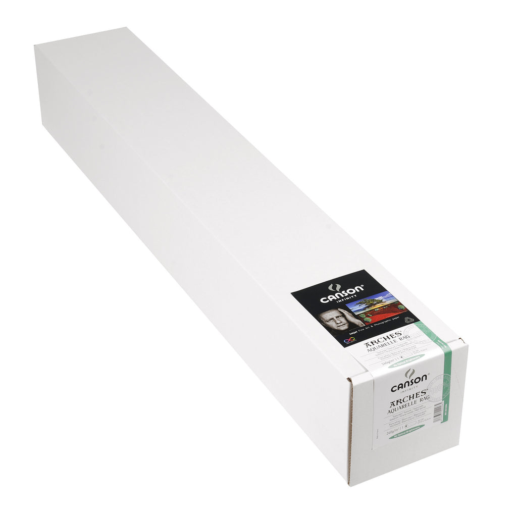 "Canson Infinity Aquarelle Rag - 240gsm - 36""x50' roll - Wall Your Photos"