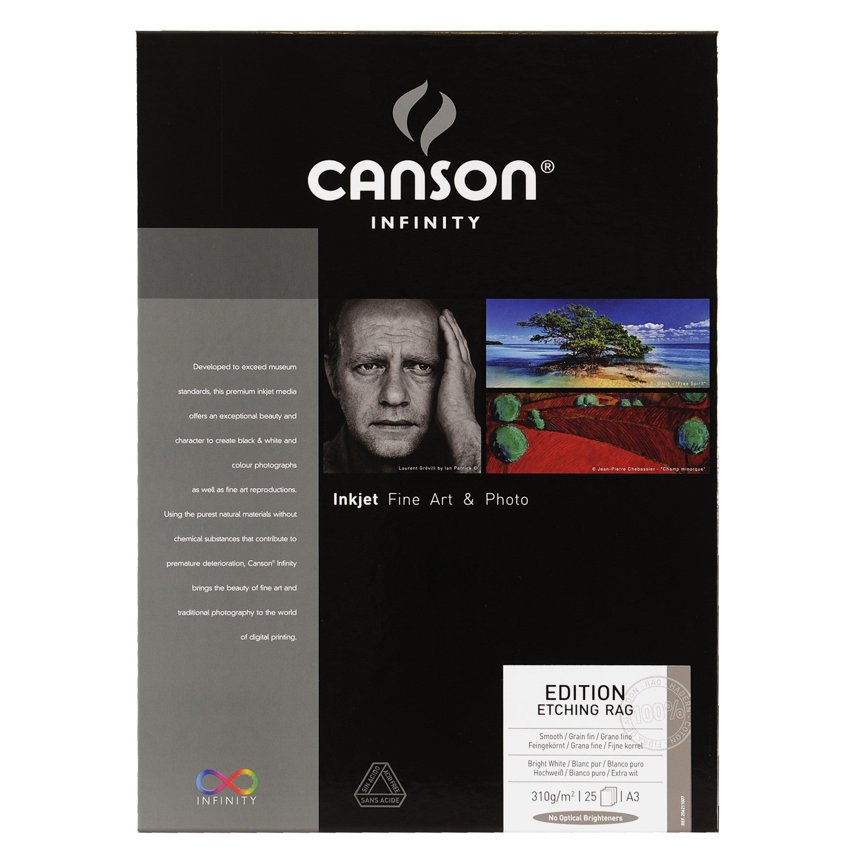 Canson Infinity Edition Etching Rag - 310gsm - A3 - 25 sheets