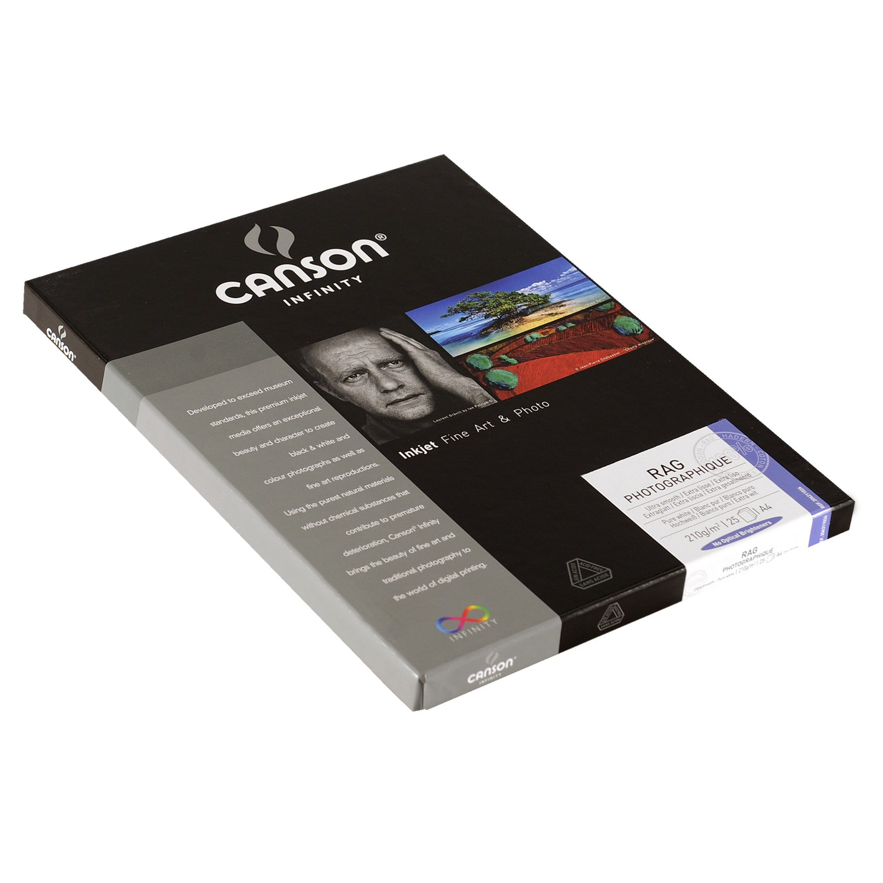 Canson Infinity Rag Photographique - 210gsm - A4 (25 sheets)