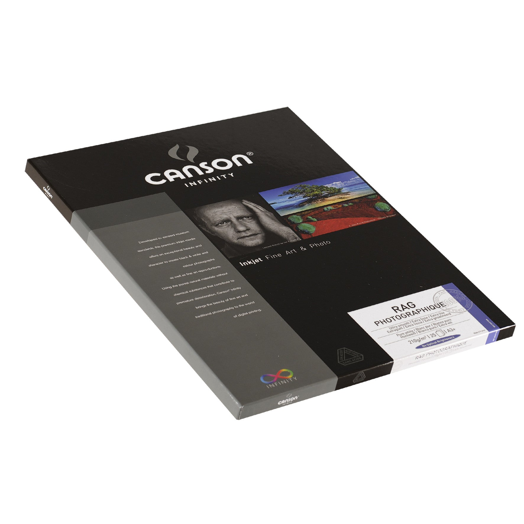 Canson Infinity Rag Photographique - 210gsm - A3+ (25 sheets)