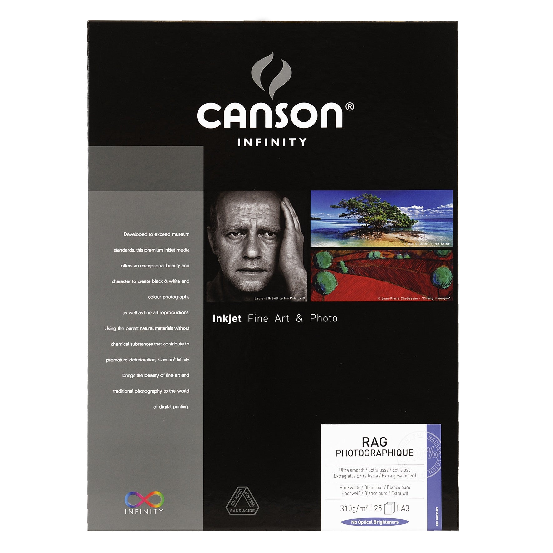 Canson Infinity Rag Photographique - 310gsm - A3 (25 sheets)
