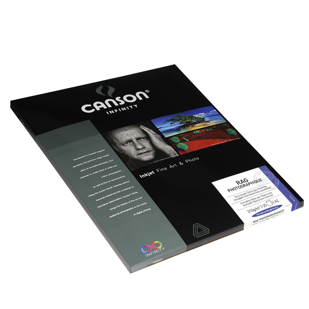 Canson Infinity Rag Photographique - 310gsm - A2 (25 sheets) - Wall Your Photos