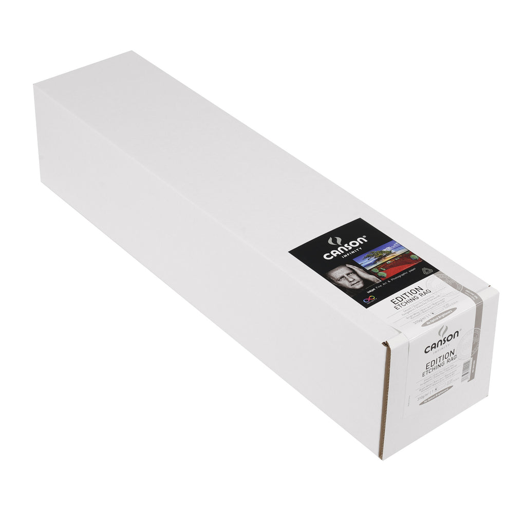 "Canson Infinity Edition Etching Rag - 310gsm - 24""x50' roll - Wall Your Photos"