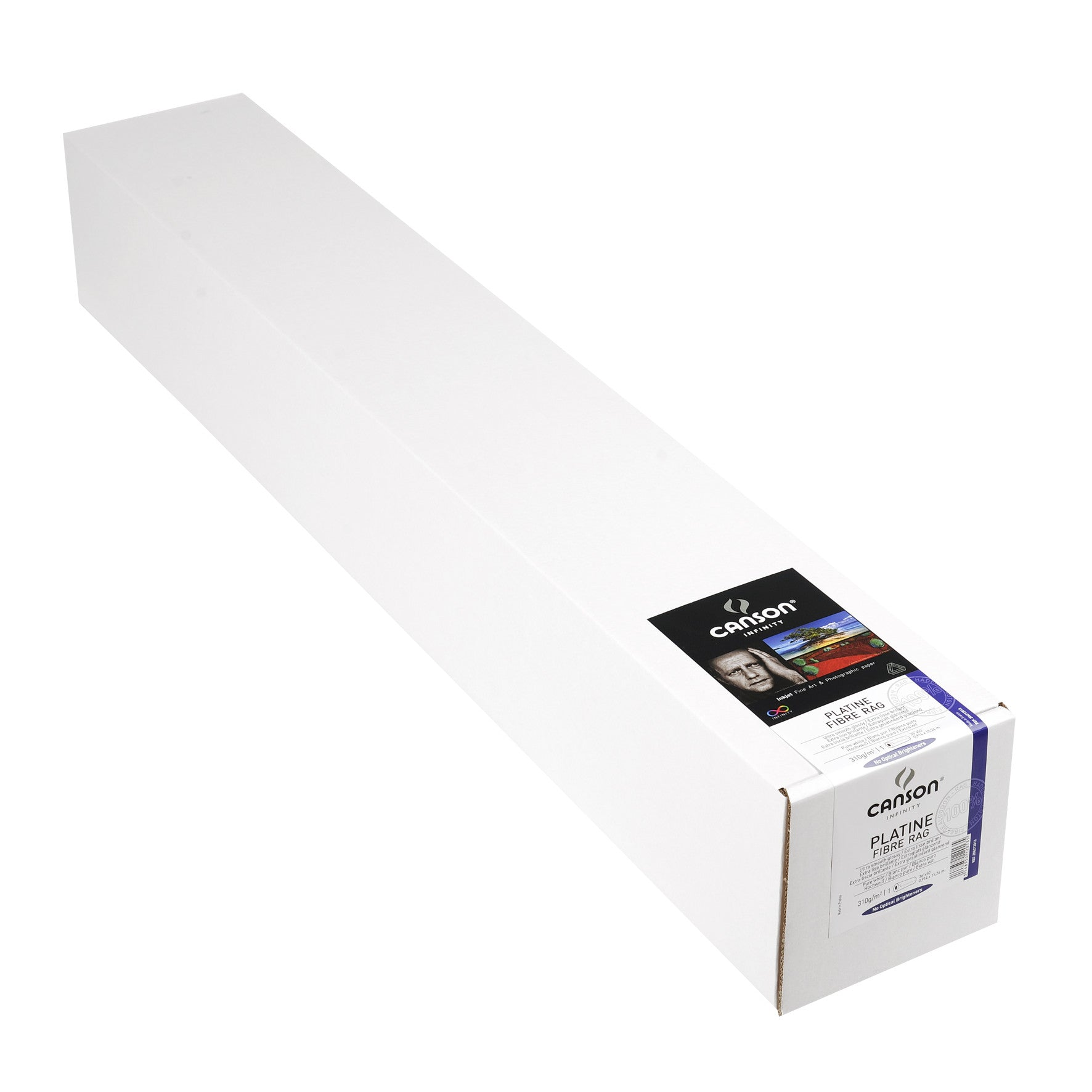 "Canson Infinity Platine Fibre Rag - 310gsm - 36""x50' roll"