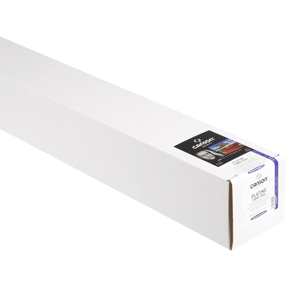 "Canson Infinity Platine Fibre Rag - 310gsm - 44""x50' roll - Wall Your Photos"