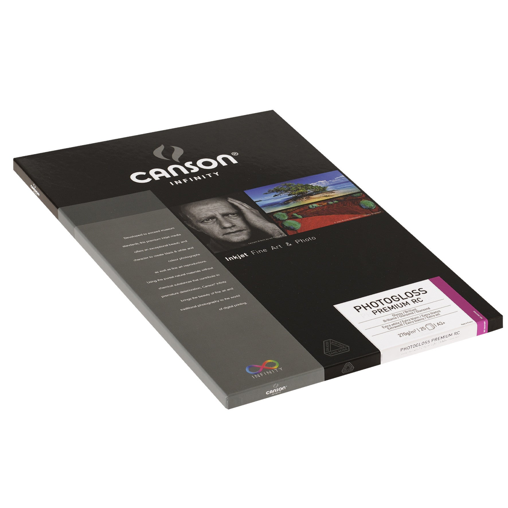 Canson Infinity Photo Gloss Premium RC - 270gsm - A3+ - 25 sheets