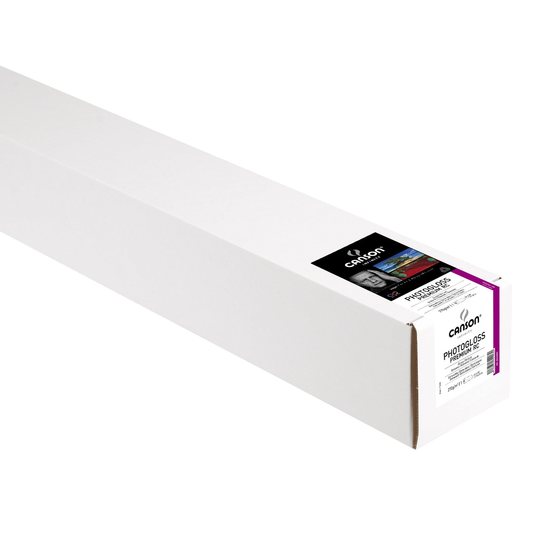 "Canson Infinity Photo Gloss Premium RC - 270gsm - 44""x100' roll"