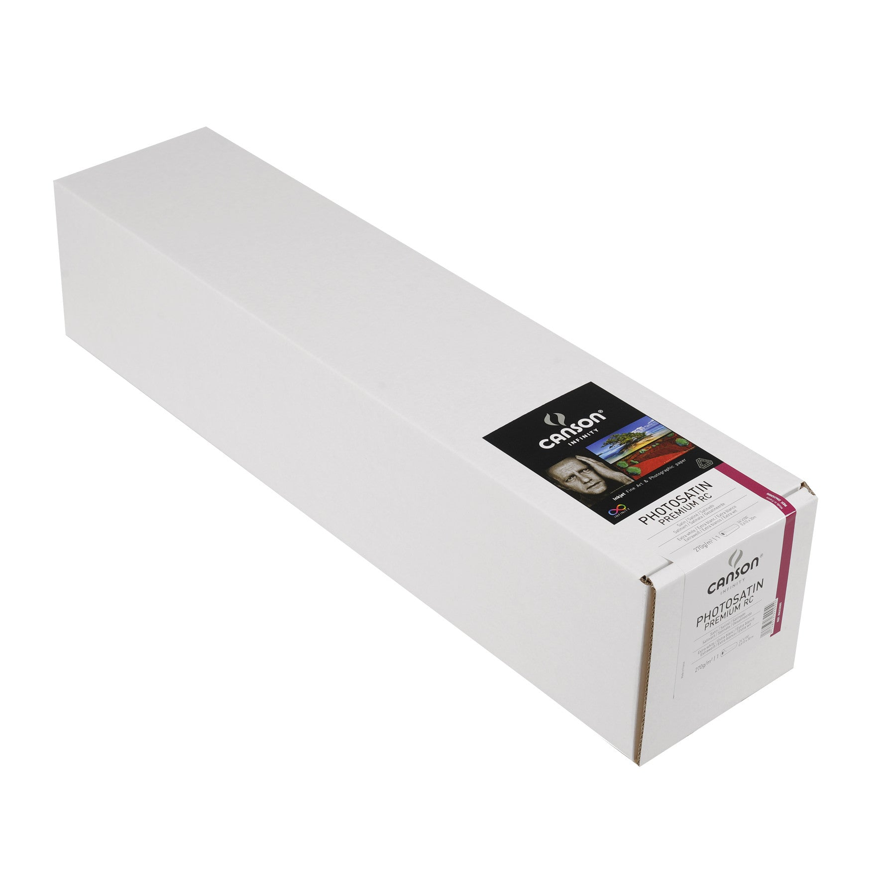 "Canson Infinity Photo Satin Premium RC - 270gsm - 24""x100' roll - Wall Your Photos"