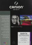 Canson Infinity Baryta Photographique - 310gsm - 5R - 25 sheets - Wall Your Photos