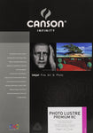 Canson Infinity Photo Luster Premium RC - 310gsm - A3+ (25 sheets) - Wall Your Photos