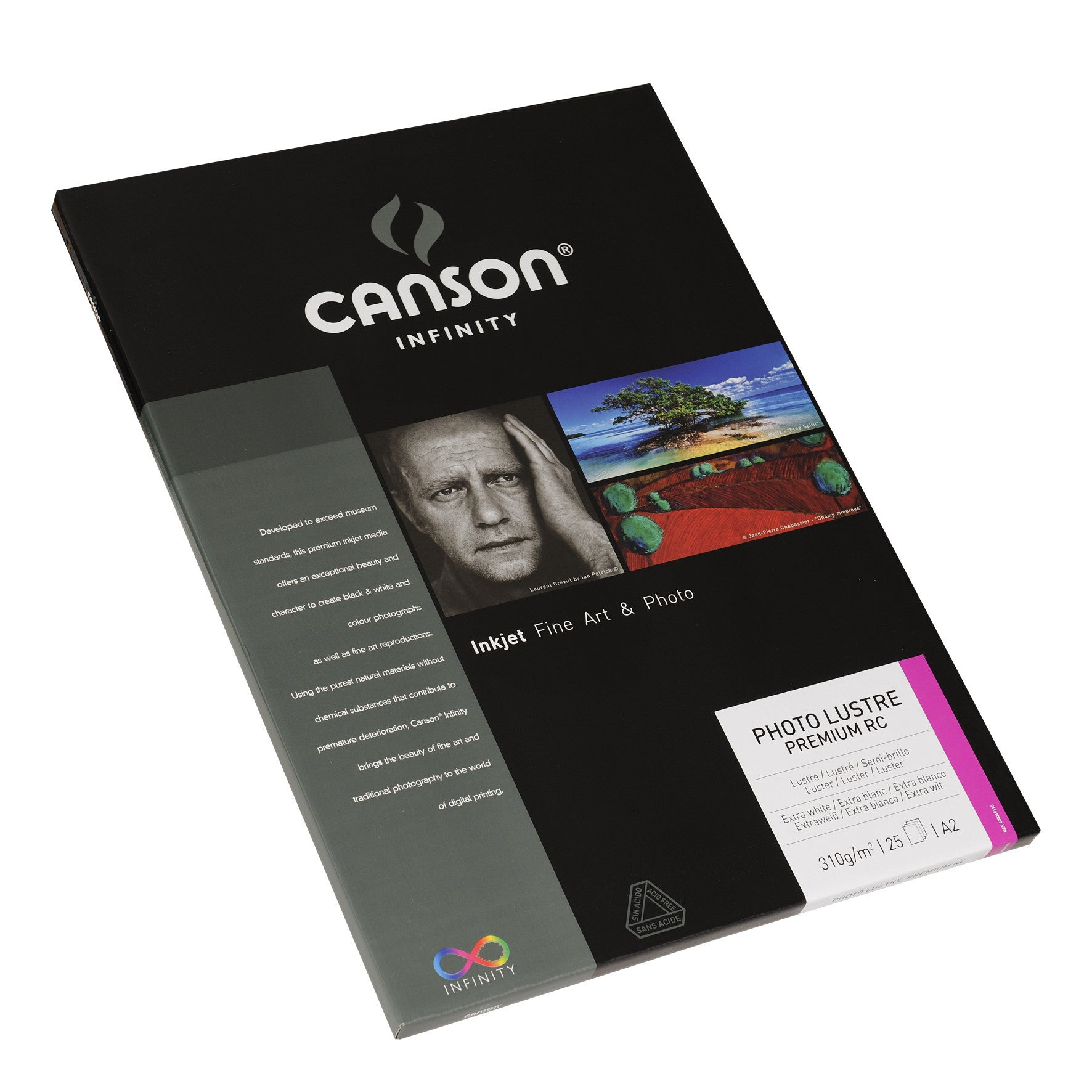 Canson Infinity Photo Luster Premium RC - 310gsm - A2 (25 sheets)