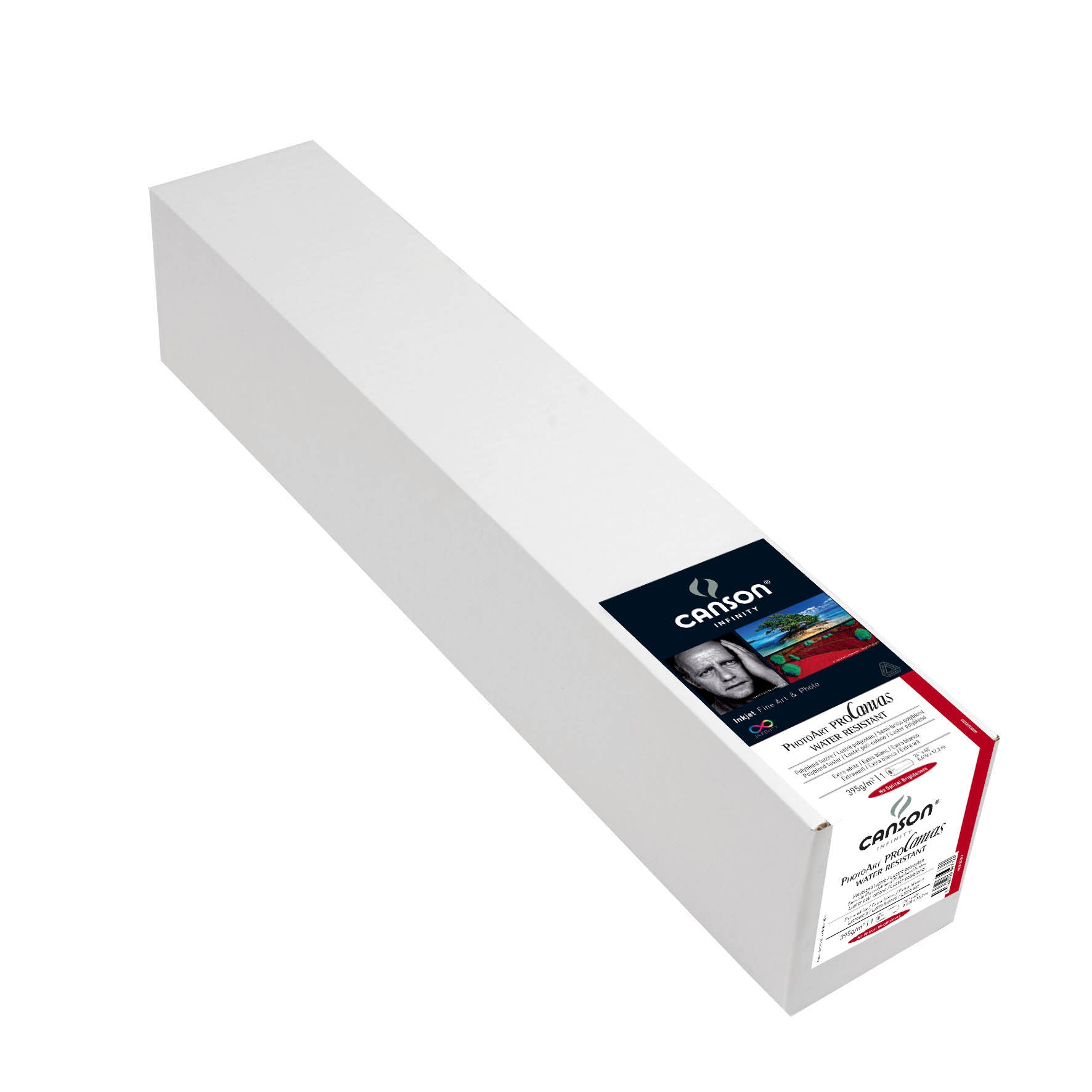"Canson Infinity PhotoArt Pro Canvas WR Luster - 395gsm - 24""x40' roll"