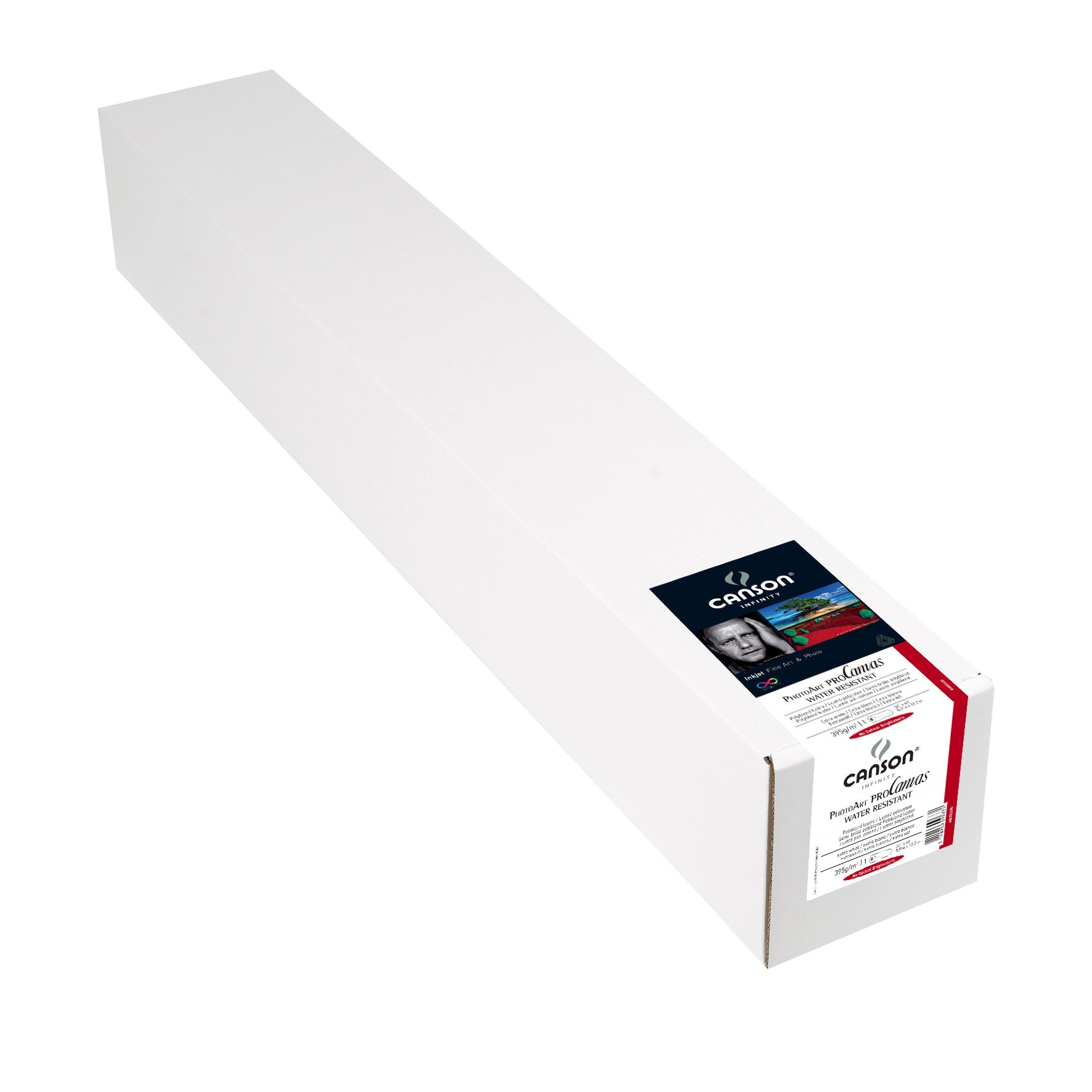 "Canson Infinity PhotoArt Pro Canvas WR Luster - 395gsm - 36""x40' roll"