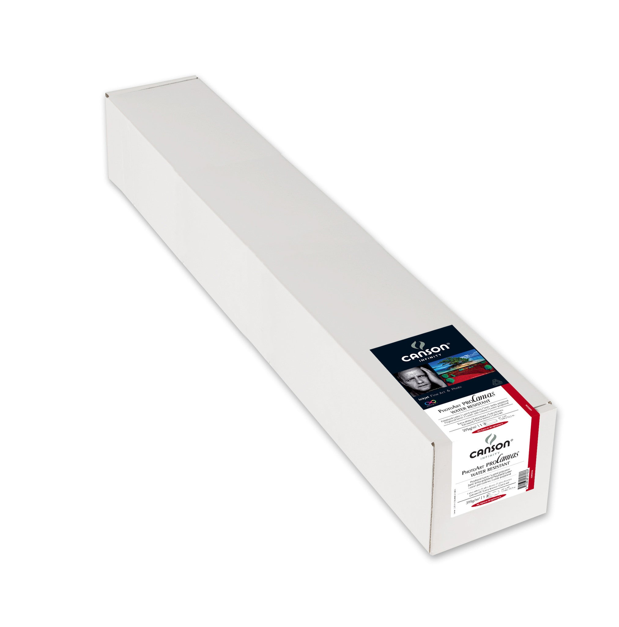 "Canson Infinity PhotoArt Pro Canvas WR Luster - 395gsm - 44""x40' roll"