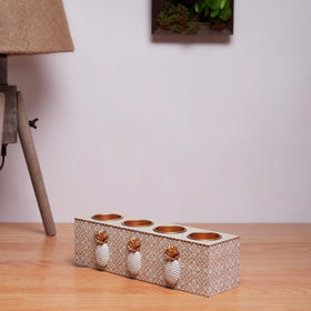 Touch of Gold Tea Light Holder
