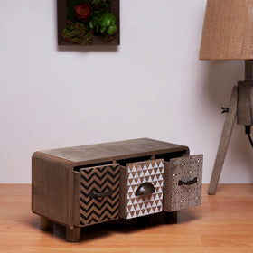 Mini-Horizontal Chest of Drawers (for desk)