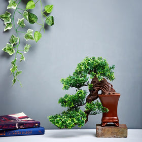 Flowing Bonsai Tree- Yellow
