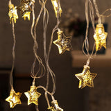 Metallic Stars Festive Light
