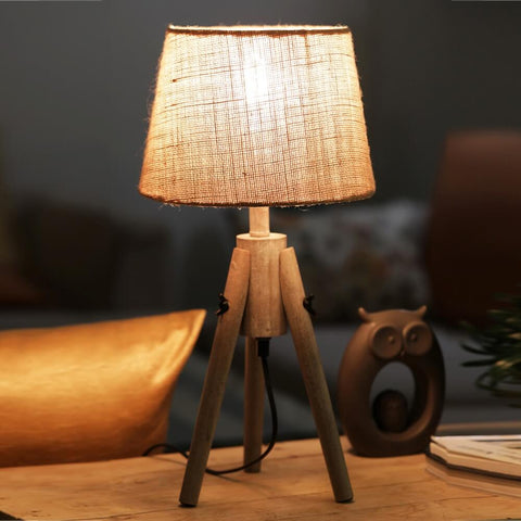 """MiniPod"" Wooden Lamp"