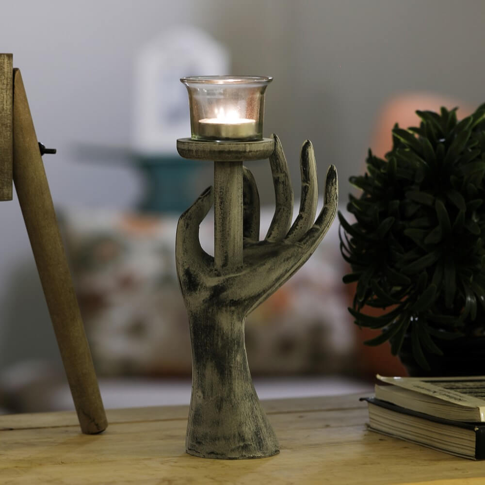 Colossal Hand Tea Light Holder