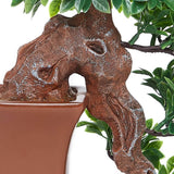 Flowing Bonsai Tree-Green