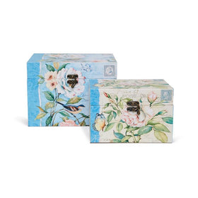 Florentine Keepsake Boxes (set of 2)