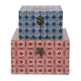 'Vintage Star' Keepsake Boxes (set of 2)