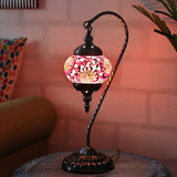 Berkin Turkish Mosaic Lamp M-Orange