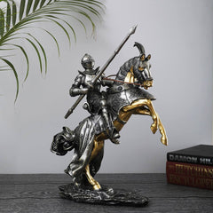 Clegane: Knight on Horse Sculpture