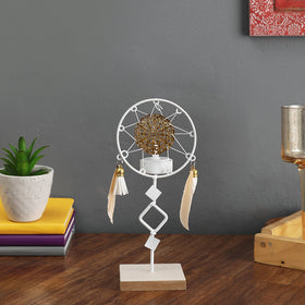 Dreamcatcher Tea Light Holder