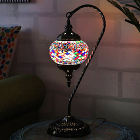 Berkin Turkish Mosaic Lamp M-Rainbow