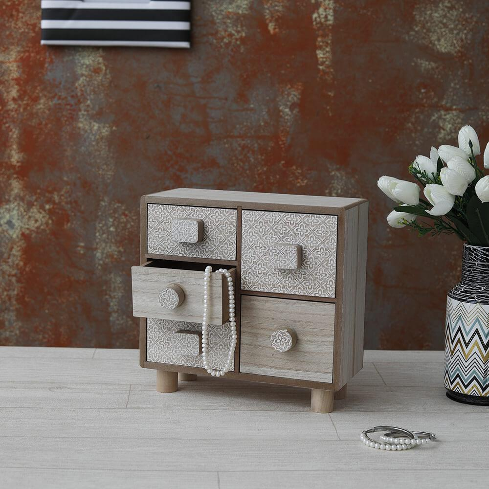 Vintage-Mini Desk Drawer Box
