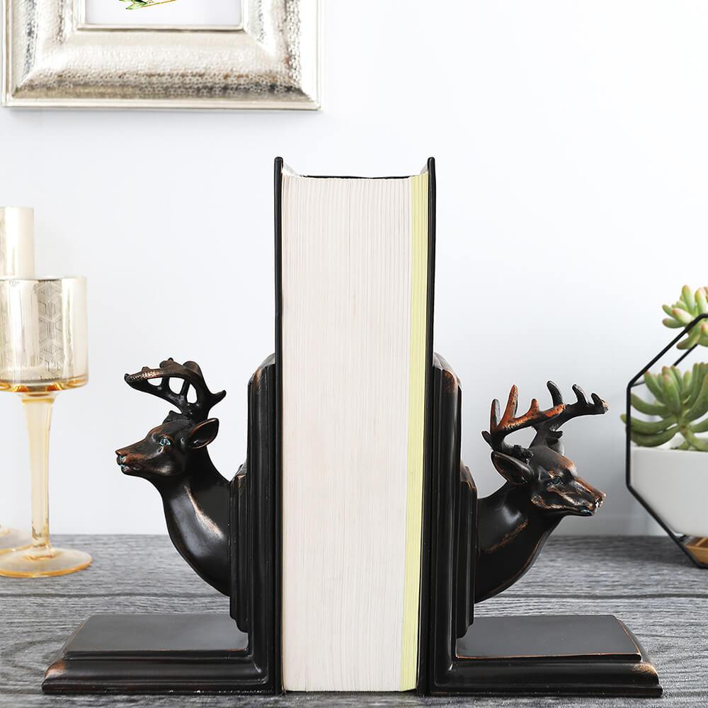 Reindeer Book Ends