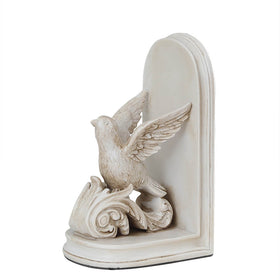 Peacekeeper Dove Book Ends