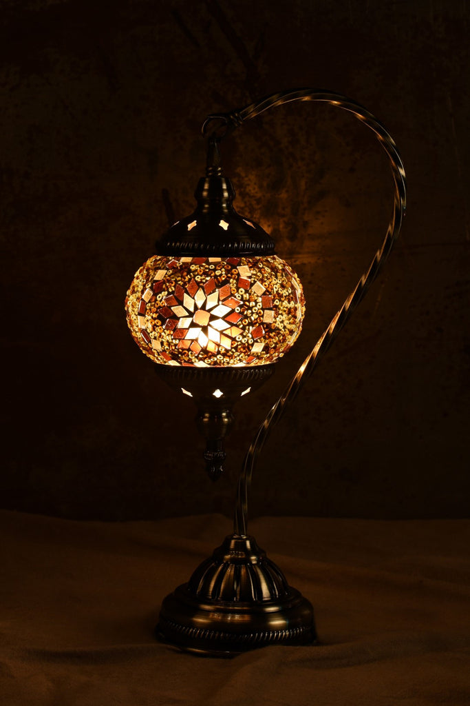 "Berkin Turkish Lamp (15"" Small / Coffee)"