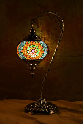 "Berkin Turkish Lamp (18"" Medium / Summerdew)"