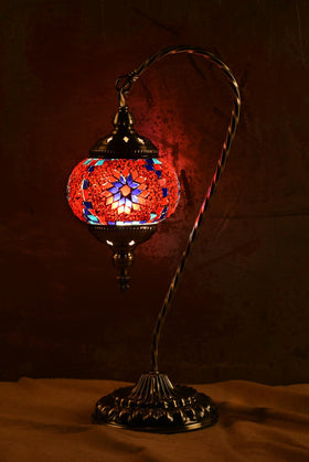 "Berkin Turkish Lamp (18"" Medium / Roseberry)"
