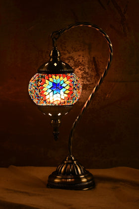 "Berkin Turkish Lamp (15"" Small / Starburst)"