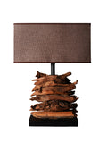 Fragmented Forest Wooden Lamp