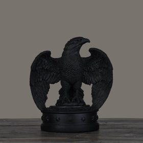 Herald Eagle book Ends-Black