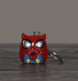 Superhero Owlets Key Chains- Set of 4
