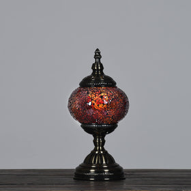 Mini-Berkin Turkish Lamp-Scorched Orange