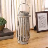 Rugged Iron Lantern - Grey
