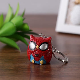 Spiderman Owlet Keychain