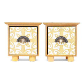 Set of Mini Single Drawers (Yellow)