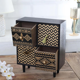 Tribal 4-Drawer Unit (for desk)